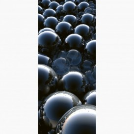 Fototapeta - DV1401 - Čierne sklenené gule