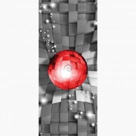 Fototapeta - DV1470 - 3D červená guľa