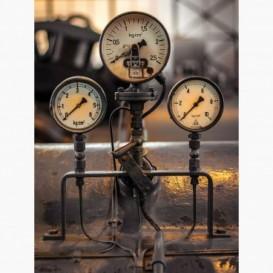Fototapeta - PL1380 - Ručičkové tlakomeri