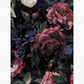 Fototapeta - PL1540 - Modrá textúra klasického ornamentu