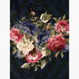 Fototapeta - PL1547 - Farebné maľované kvety