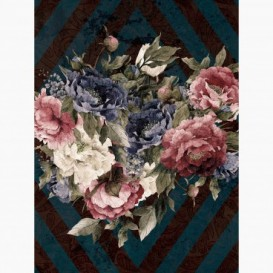 Fototapeta - PL1548 - Farebné maľované kvety