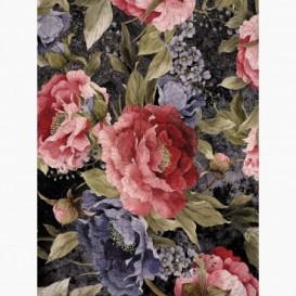 Fototapeta - PL1551 - Farebné maľované kvety