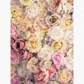 Fototapeta - PL1599 - Farebné vintage kvety