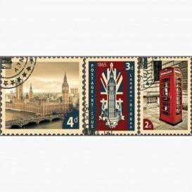Fototapeta - PA5123 - Poštové známky Londýn