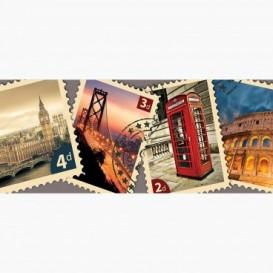 Fototapeta - PA5127 - Poštové známky Svet