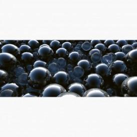 Fototapeta - PA5374 - Čierne sklenené gule