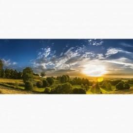 Fototapeta - PA5380 - Západ slnka na lúkach