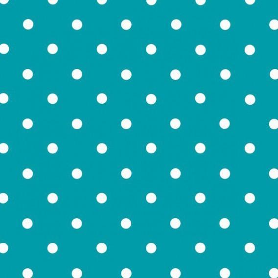 Samolepící fólie 200-3213 Modrá s bílými puntíky 45cm x 15m