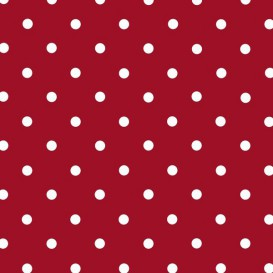 Samolepiaca fólia 200-3212 červená s bielymi bodkami 45cm x 15m