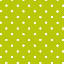 Samolepiaca fólia 200-3214 Zelená s bielymi bodkami 45cm x 15m