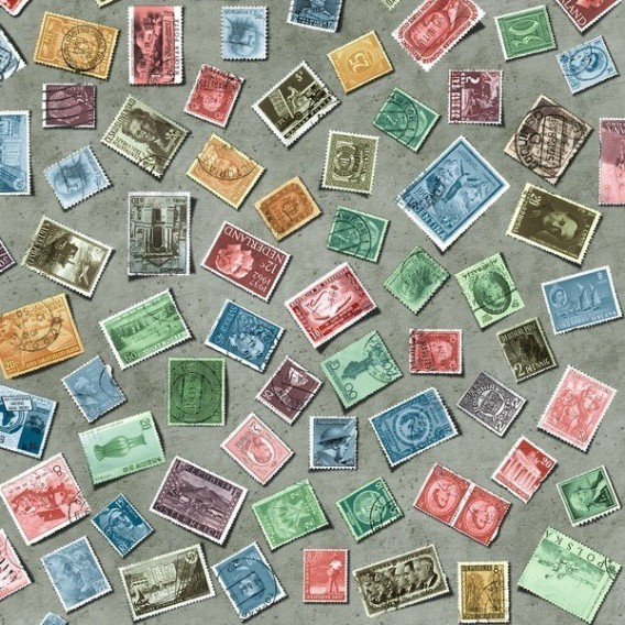 Samolepící fólie 200-3195 Známky 45cm x 15m