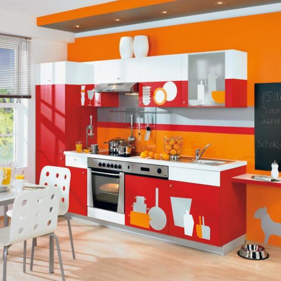 Samolepící fólie 200-2880 Oranžovo červená lesklá 45cm x 15m