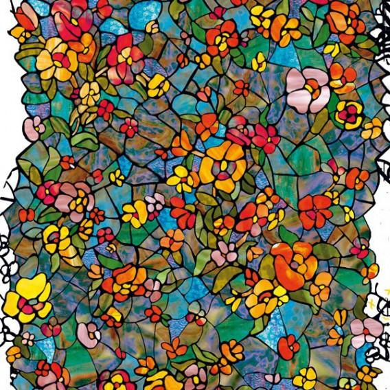 Samolepiaca transparentná fólia 200-5525 Venetian Garden 90cm
