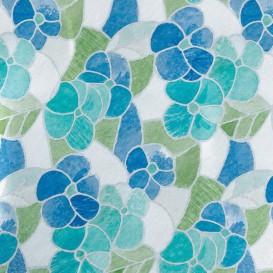 Samolepiaca transparentná fólia 200-2665 Lisboa modrá 45cm x 15m