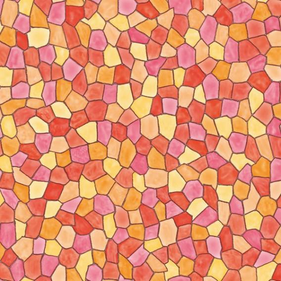 Samolepící transparentní fólie 200-3072 Taormina červeno hnědá 45cm x 15m