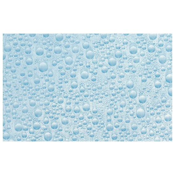 Samolepící transparentní fólie 10480 Vodní kapky modré 67,5cm x 15m