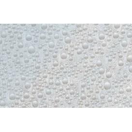 Samolepiaca transparentná fólia 10488 Vodné kvapky 67,5cm x 15m