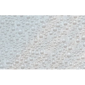 Samolepící transparentní fólie 10490 Vodní kapky 90cm x 15m