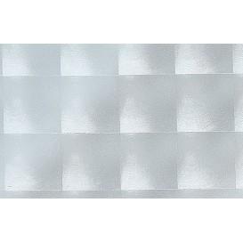 Samolepící transparentní fólie 10005 Čtverce 45cm x 15m