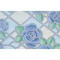 Samolepící transparentní fólie 11835 Vytrážne sklo Amiens Blue 67,5cm x 15m