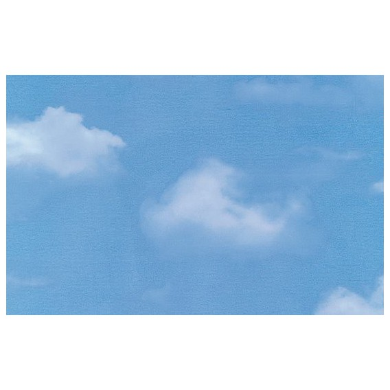 Samolepiaca transparentná fólia 10529 Oblaky 90cm x 15m