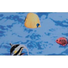 Samolepící transparentní fólie 10971 Rybičky 45cm x 15m