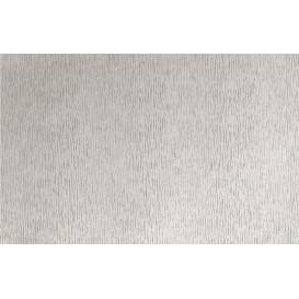 Metalická samolepící fólie 10296 Stříbrná rýhovaná 45cm x 15m