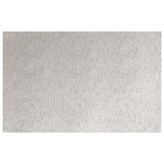 Metalická samolepící fólie 10365 Stříbrná rýhovaná 67,5cm x 15m