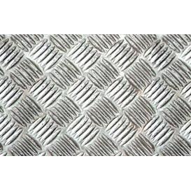 Metalická samolepící fólie 11949 Stříbrná Riffle mřížka 45cm x 5m
