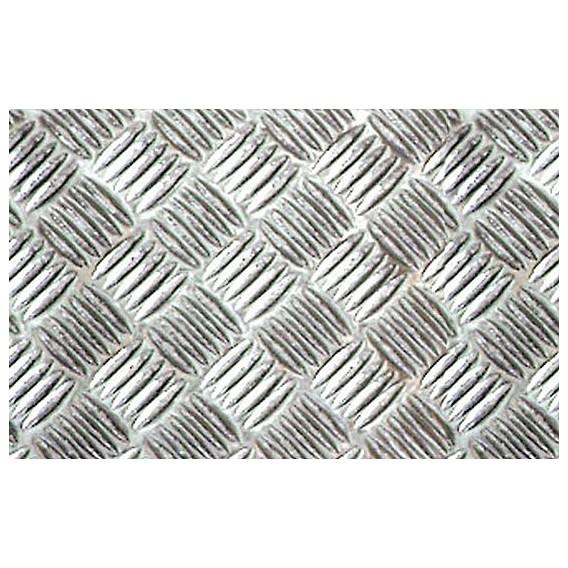 Metalická samolepící fólie 11951 Stříbrná Riffle mřížka 67,5cm x 5m