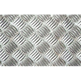 Metalická samolepiaca fólia 11951 Strieborná Riffle mriežka 67,5cm x 5m