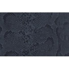 Samolepící fólie imitace kůže 12618 Hadí kůže černá 45cm x 15m