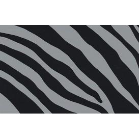 Samolepiaca fólia imitácia kože 12620 Zebra šedá 45cm x 15m
