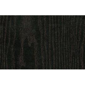 Perforovaná samolepiaca fólia 12779 čierne drevo 130cm x 15m