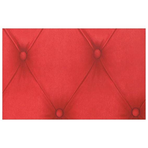 Perforovaná samolepící fólie 12654 Chesterfield fólie červená 90cm x 2,5m