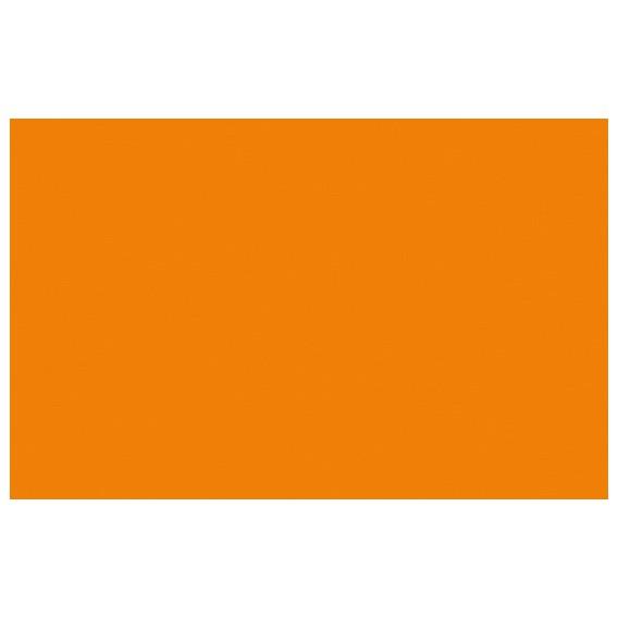 Jednobarevná samolepící fólie 10035 Oranžová lesklá 45cm x 15m