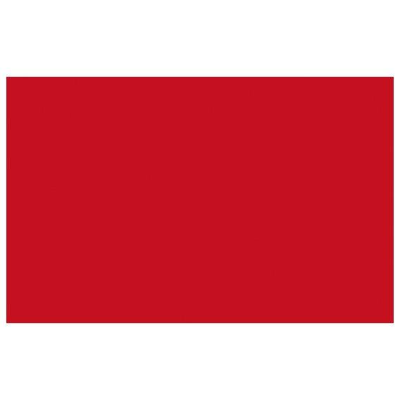 Jednobarevná samolepící fólie 10037 červená lesklá 45cm x 15m