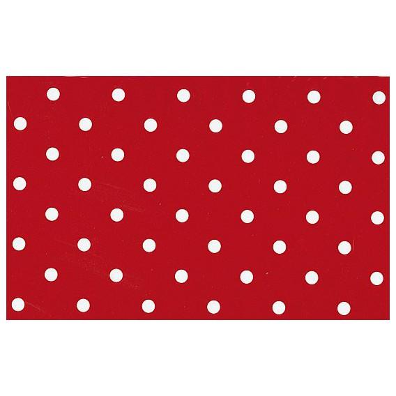 Samolepiaca fólia 12595 Bodkovaná červená 45cm
