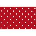 Samolepící fólie 12595 Tečkovaná červená 45cm x 15m