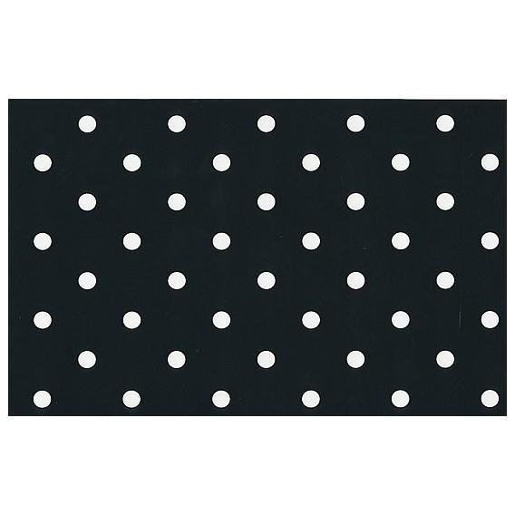Samolepící fólie 12598 Tečkovaná černá 45cm x 15m