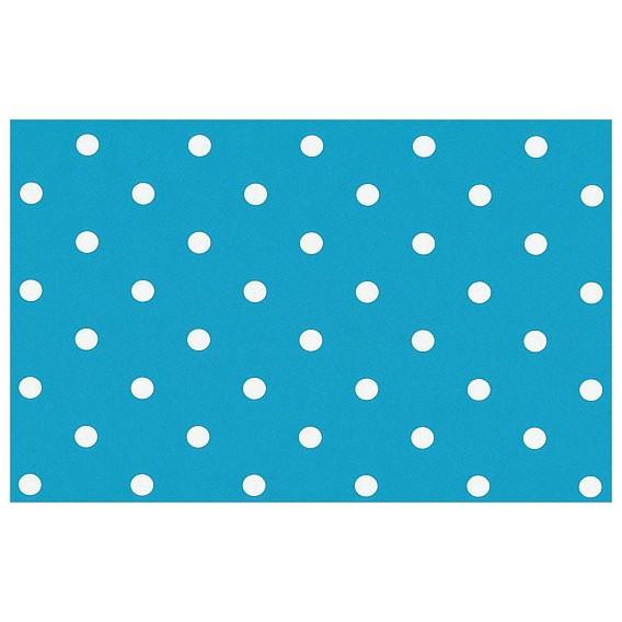 Samolepící fólie 12705 Tečkovaná světle modrá aqua 45cm x 15m