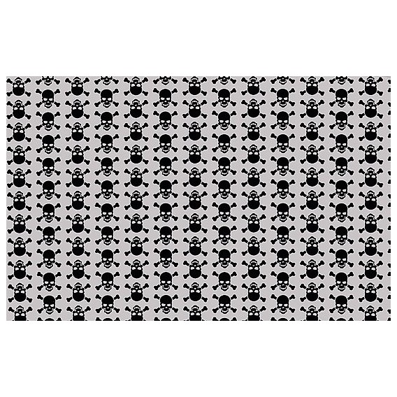Samolepící fólie 11934 Lebky šedá 45cm x 15m