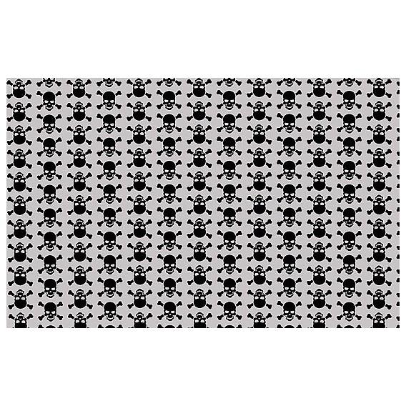 Samolepící fólie 11938 Lebky šedá 90cm x 15m