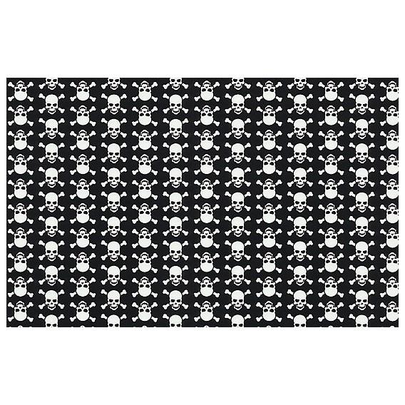 Samolepící fólie 12650 Lebky černo / bílá 45cm x 15m