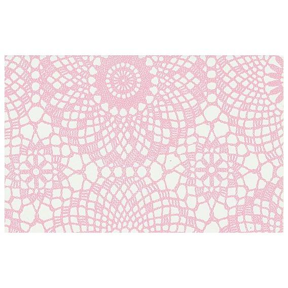 Samolepící fólie 12648 krajka růžová 45cm x 15m