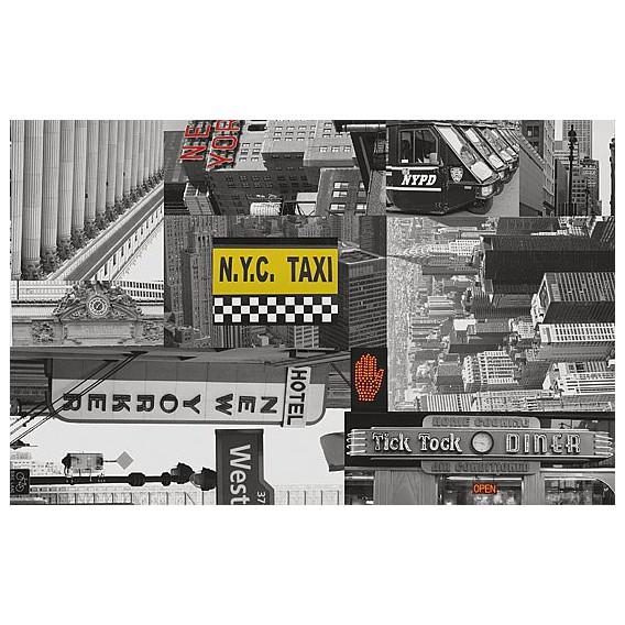 Samolepící fólie 11918 Městské taxi 67,5cm x 15m