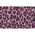 Samolepiaca fólia 12636 Leopardia koža ružová 45cm x 15m