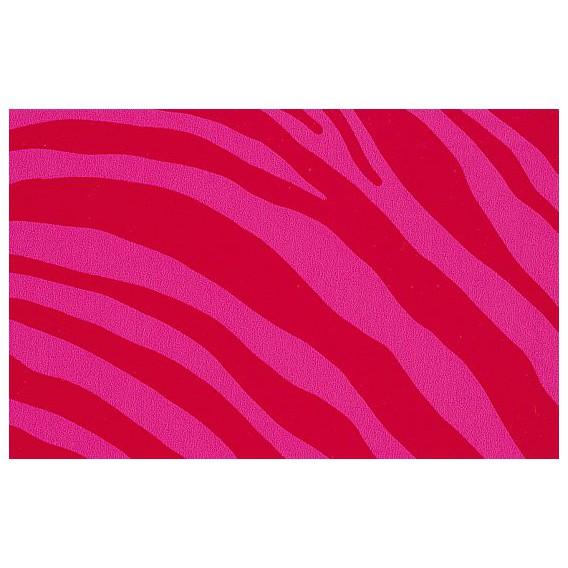 Samolepiaca fólia 12634 Zebra ružová 45cm x 15m