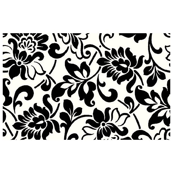 Samolepící fólie 10579 Dědictví černo / bílá 67,5cm x 15m